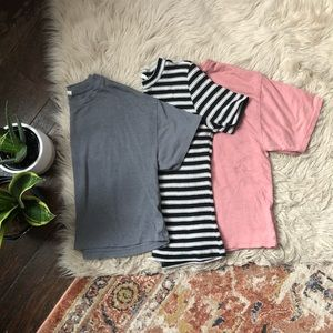 Brandy Melville, Gap, and H&M T-Shirt Bundle